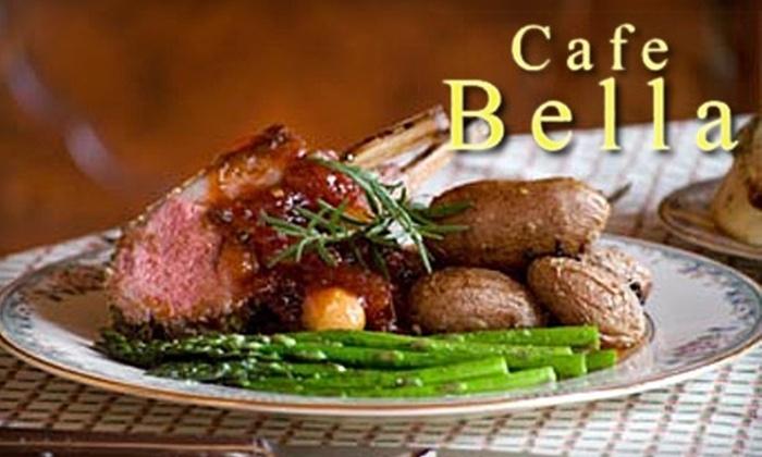 Cafe Bella - Mason: $20 for $40 Worth of Mediterranean, Italian, and Eritrean Fare at Cafe Bella in Mason