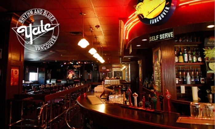 The Yale - Vancouver: $25 for Two Live Music Cover Charges & Four Highball Drinks at The Yale