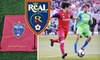 Real Salt Lake - Sandy: $49 for Two Tickets to MLS Match Between Real Salt Lake and D.C. United on July 31, Plus Two Mini Backpacks and One Premium Parking Pass ($112 Value)