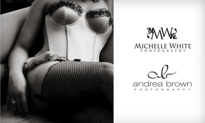 Andrea Brown Photography & Michelle White Photography - Downtown: $99 for a 30-Minute Boudoir Session and Prints from Andrea Brown Photography and Michelle White Photography