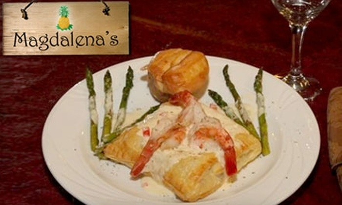 Magdalena's Restaurant & Café on the Square - Corydon: $10 for $20 Worth of Casual Lunch, Dinner, and Drinks at Magdalena's Restaurant & Café on the Square in Corydon