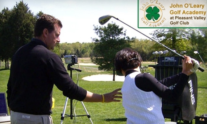 John O'Leary Golf Academy - Sully: Golf Lessons at John O'Leary Golf Academy in Chantilly (Up to $75 Value). Choose from Three Options.