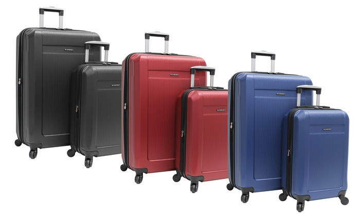 Ciao Trekker Hardside Spinner Luggage Set (2-Piece)