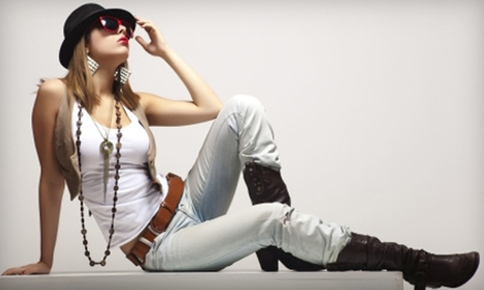 Moni V's - Nob Hill: $24 for $50 Worth of Women's Apparel and Accessories at Moni V's