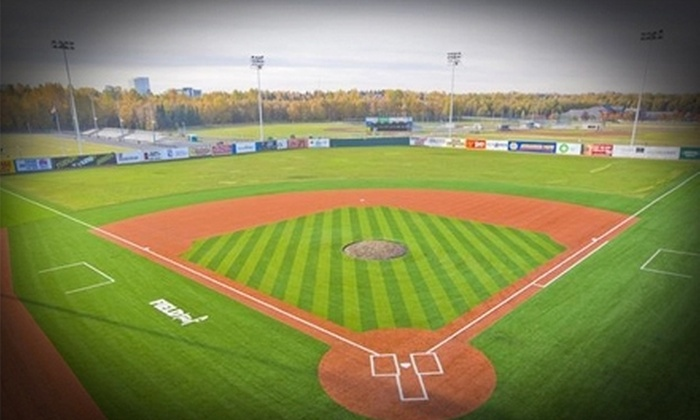 Glacier Pilots - Multiple Locations: Glacier Pilots Nine-Game Ticket Package with Drinks for One or Two at Mulcahy Baseball Stadium (Up to 68% Off)