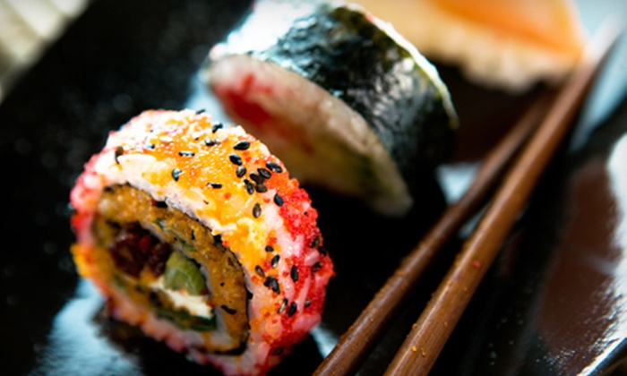 G-In Sushi & Grill - Tinley Park: Sushi Dinner with Appetizers and Dessert for Two or Four at G-In Sushi & Grill in Tinley Park