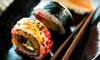 Asia Palacee - Tinley Park: Sushi Dinner with Appetizers and Dessert for Two or Four at G-In Sushi & Grill in Tinley Park