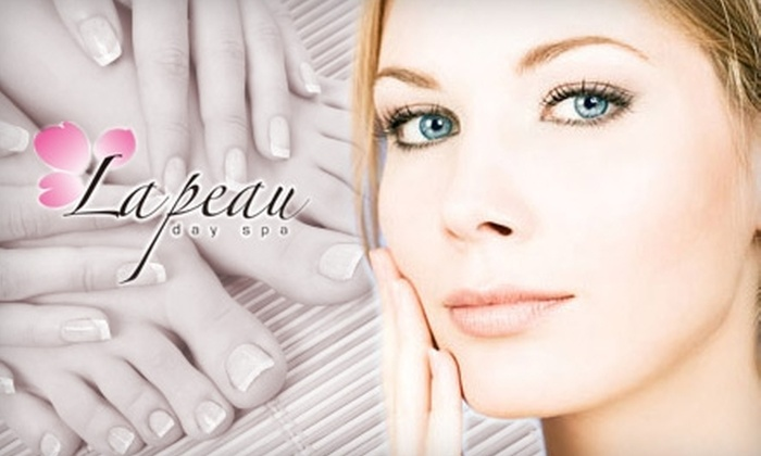 La Peau Day Spa - Chinatown: $65 for a Diamond-Peel Facial and Mani-Pedi at La Peau Day Spa ($205 Value)