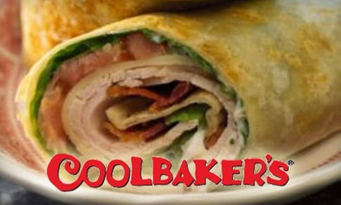 Coolbaker's - Nashville: $25 for Five Lunch Boxes Delivered to Your Office from Coolbaker's (Up to $53.90 Value)