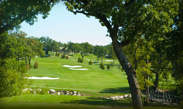 Stevens Park Golf Course - Southwest Dallas: 18-Hole Golf Outing for One or Two with a 9-Hole Playing Lesson at Stevens Park Golf Course (Up to 75% Off)