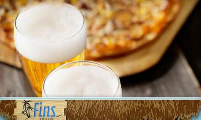 Fins Bar & Grill - Fulton: $9 for $20 Worth of Casual Cuisine and Drinks at Fins Bar & Grill in Edgerton