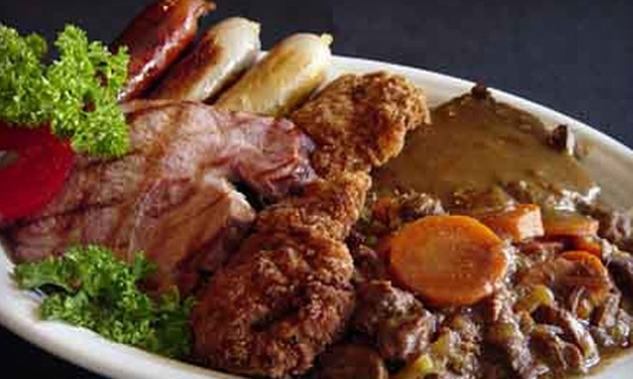 Schnitzelbank Restaurant - Jasper: $20 for $40 Worth of German Fare and Drinks at Schnitzelbank Restaurant in Jasper