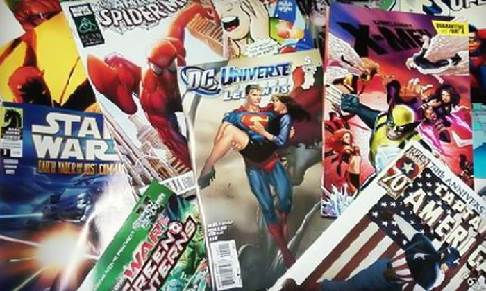 All About Books & Comics - Alhambra: $10 for $20 Worth of Comics and More at All About Books & Comics