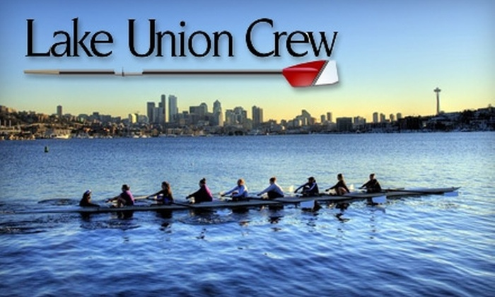Lake Union Crew - Seattle: $49 for a Four-Week Rowing Class at Lake Union Crew ($99 Value)