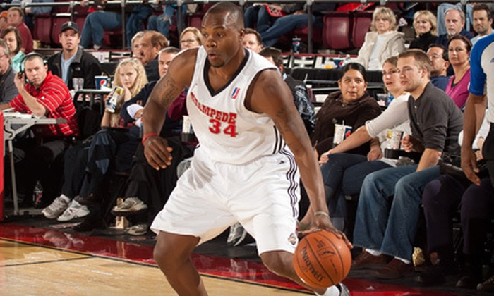 Idaho Stampede - Downtown: Idaho Stampede Basketball Outing (Up to 77% Off). Six Options Available.
