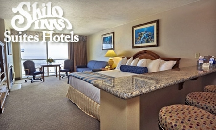 Shilo Inn Suites Hotel - Multiple Locations: One-Night Stay in an Oceanfront Room and a $45 Dining Credit at Shilo Inn Suites Hotel. Choose Between Two Locations.