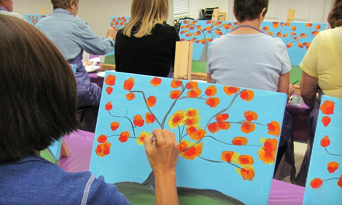 Sketch and Sip - Riverview: $20 for a Painting Class at Sketch and Sip in Riverview ($40 Value)