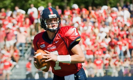University of Richmond Spiders vs. Wagner Seahawks at Robins Stadium on Sat., Sept. 10 at 6:00PM: Reserved Seating - University of Richmond Spiders in Richmond