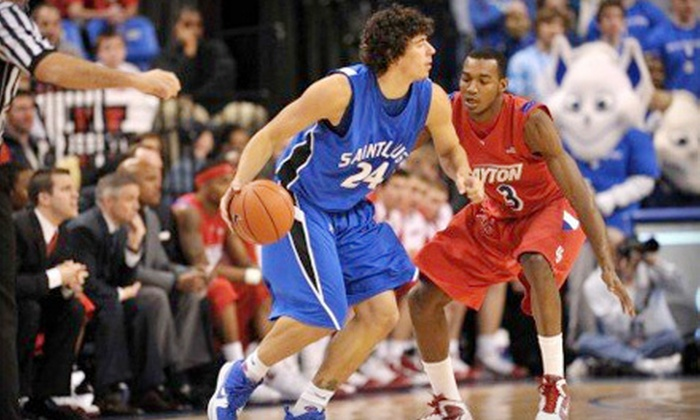 Saint Louis University Billikens - Chaifetz Arena: Basketball Outing to See St. Louis University Billikens Men's Game on February 4 (Up to 59% Off). Two Options Available.