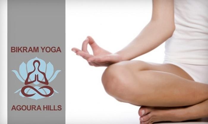 Bikram Yoga Agoura Hills - Agoura Hills: $29 for 10 Classes at Bikram Yoga Agoura Hills ($140 Value)