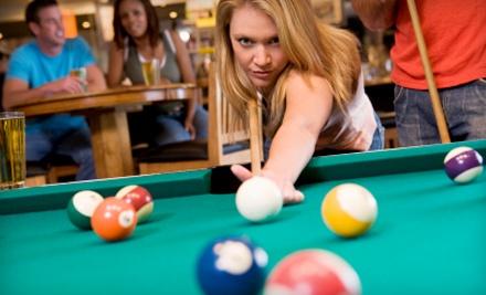 2 Hours of Billiards (a $20 value) - Classic Billiards in Clovis