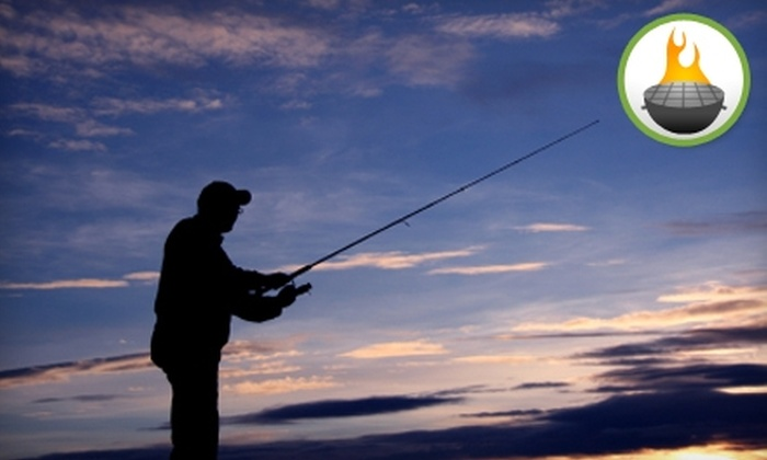 Texas Ranch Life - Chappell Hill: $75 for a Day of Fishing and a Barbecue Picnic for Two at Texas Ranch Life in Chappell Hill (Up to $150.98 Value)