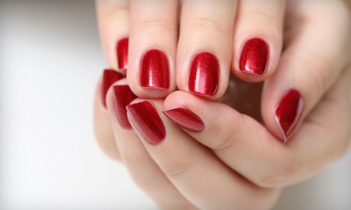 Growing Hands Salon & Spa - Jefferson Square Plaza: One or Three Shellac Manicures and Paraffin Treatments at Growing Hands Salon & Spa (Up to 59% Off)