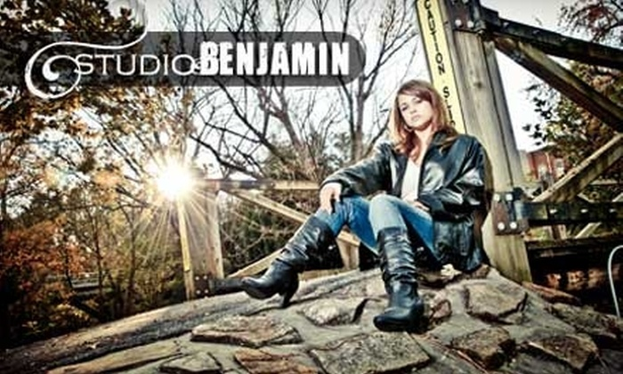 Studio Benjamin - Maryville: $20 for One Portrait Session and 10% Off an Order of Prints at Studio Benjamin (Up to $200 Value)