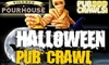 Village Pourhouse - Greenwich Village: $15 for 3-Day Pass to Halloween Bar Crawl ($30 Value)