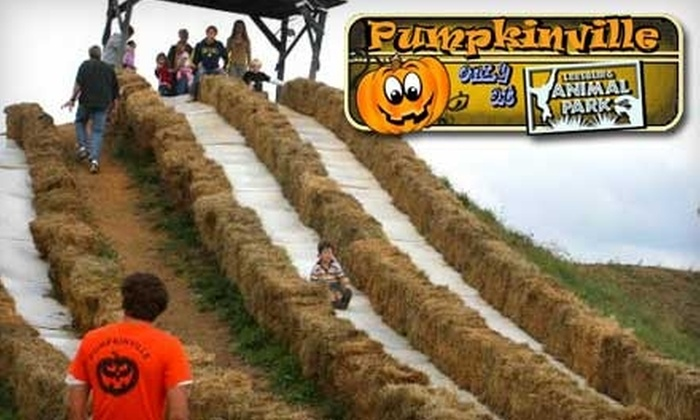 Pumpkinville Fall Festival - Emerald Park Estates: $6 for One-Day Admission to Pumpkinville at Leesburg Animal Park ($13 Value)