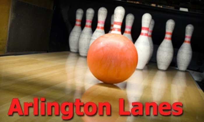 Arlington Lanes - Ramona: $5 for Two Games of Bowling and Shoe Rental at Arlington Lanes