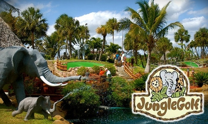Jungle Golf - Fort Myers: $20 for Four Rounds of Miniature Golf at Jungle Golf ($40 Value)