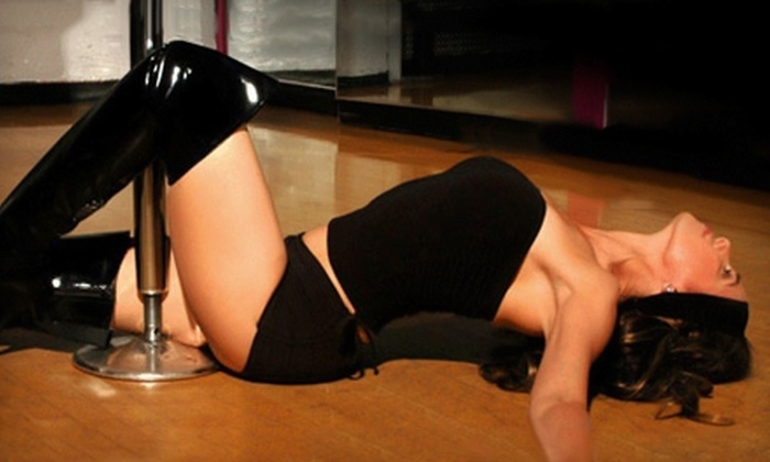 Kitty Kat Pole Dancing - Downtown Miami: $29 for Five Classes at Kitty Kat Pole Dancing ($85 Value)