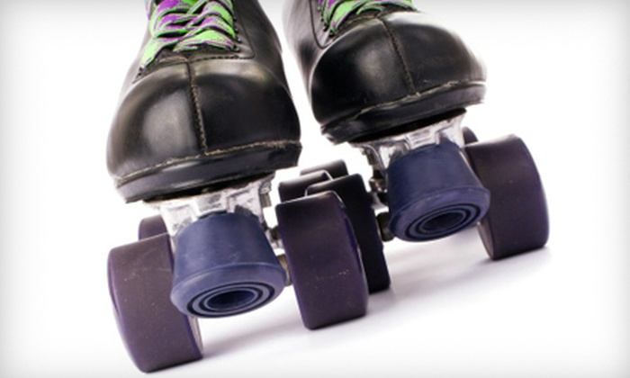 Roller Dome Skate Center - Multiple Locations: $20 for a Roller-Skating Outing for Five at Roller Dome Skate Centers (Up to $47.50 Value)