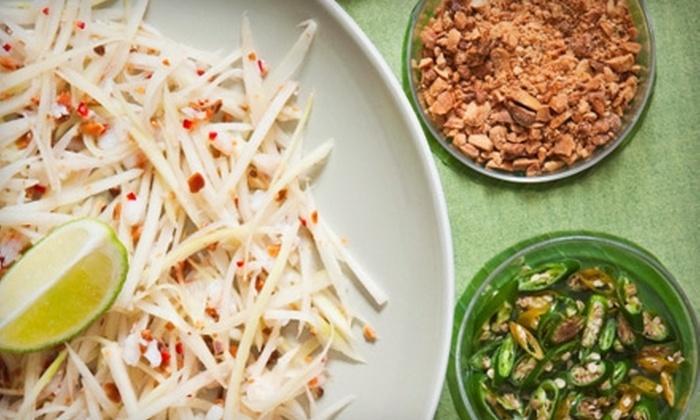 Thai Garden - West Park: $5 for $10 Worth of Thai Cuisine at Thai Garden in Broken Arrow