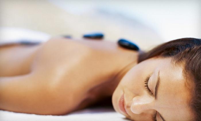 Karibe Studio - Ledbury - Heron Gate - Ridgemont - Elmwood: Hot-Stone Massage or Spa Package with Hot-Stone Massage, Facial, and Waxing at Karibe Studio (Up to 65% Off)