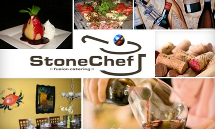 StoneChef Caterers - Historic Ybor: $35 Wine Tasting and One Bottle of Wine from StoneChef Caterers