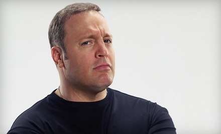 Kevin James at the David A. Straz, Jr. Center on Thur., Apr. 12 at 8PM: Gallery or Balcony Seating - Kevin James  in Tampa
