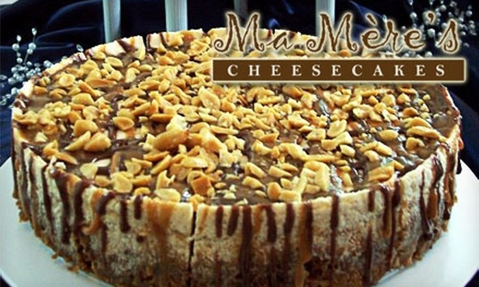 Ma Mère's Cheesecakes - Carmel: Cheesecake from Ma Mère's Cheesecakes. Choose From Two Options.