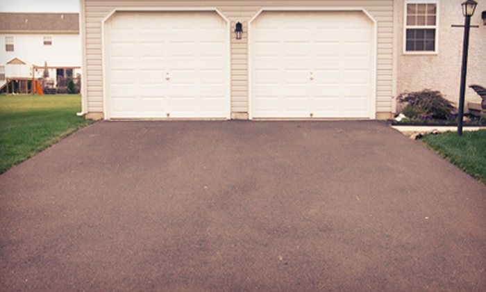 Chicagoland Construction and Property Services - Chicago: Seal Coating for Two- or Three-Car Asphalt Driveway from Chicagoland Construction and Property Services (Up to 74% Off)
