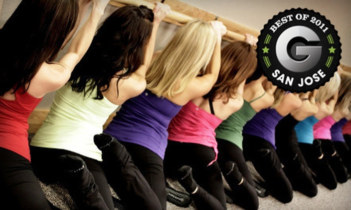 Pure Barre - Los Gatos: $39 for Four Barre-Fitness Classes at Pure Barre in Los Gatos ($88 Value)