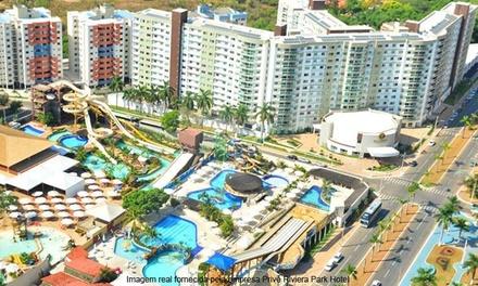 Caldas Novas/GO: 2, 3, 4 ou 7 noites para 2 pessoas no Privé Riviera Park Hotel. Digite NATAL e ganhe 15% OFF extra!