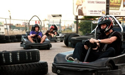 Up to 50% Off Go Kart Rides at Karttrak Go Karts