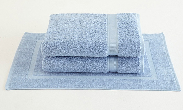 100 Ultrasoft Supima Cotton 2 Piece Bath Sheet Sets With