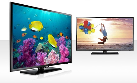 "Samsung 46"" or 50"" 1080p 60Hz Slim LED HDTV. Free Returns."