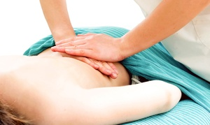 Ovation Chiropractic: One or Three 60-Minute Swedish Massages with Initial Consultation at Ovation Chiropractic (Up to 84% Off)