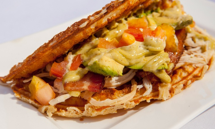 Wâfel - Central Chicago: $15 for Three Groupons, Each Good for $10 Worth of Waffle Sandwiches, Coffee or Pastries at Wâfel ($30 Total Value)