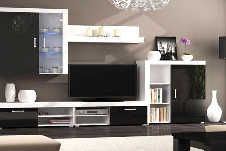 meuble de salon complet groupon shopping. Black Bedroom Furniture Sets. Home Design Ideas