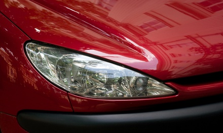 An Express-Service Car Wash with Interior Cleaning at The Eco Wash (45% Off)