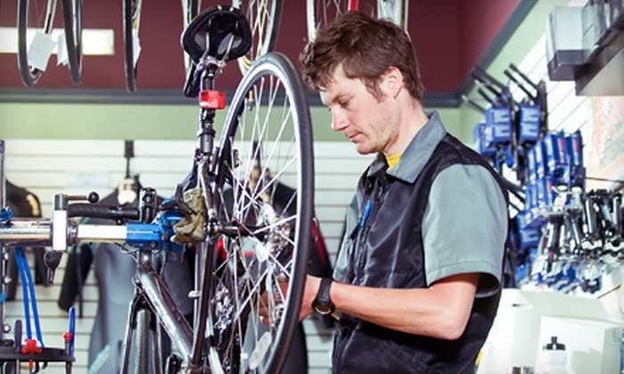 The Bicycle Clinic - Multiple Locations: All-Day Beach-Cruiser Rental for One or Two or Bicycle Tune-Up at The Bicycle Clinic (Up to 63% Off)